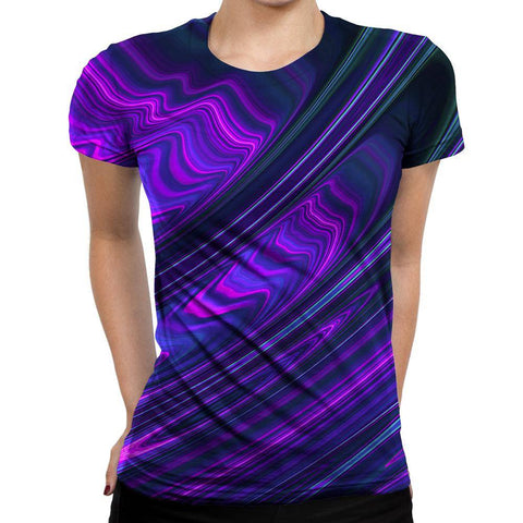 Image of Waves Womens T-Shirt