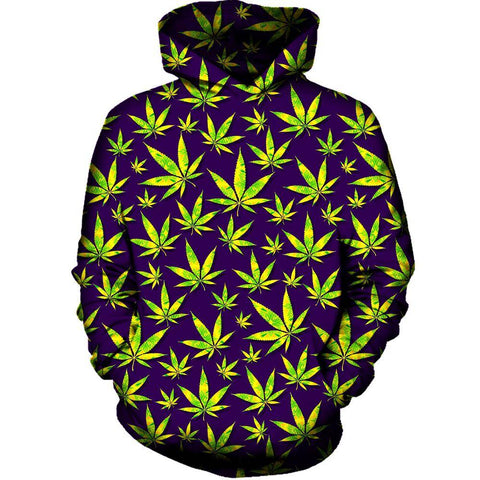 Image of Marijuana Leaves Hoodie
