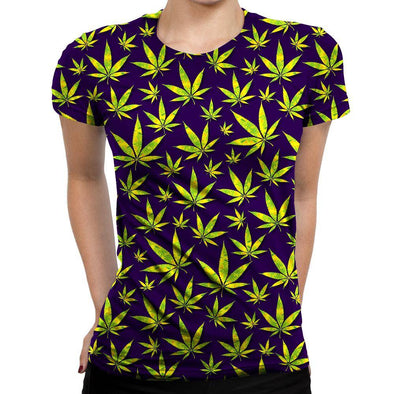 Marijuana Womens T-Shirt