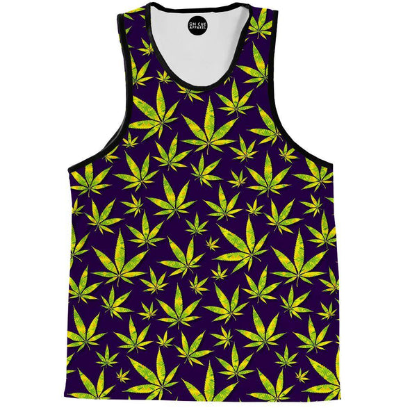 Marijuana Leaves Tank Top