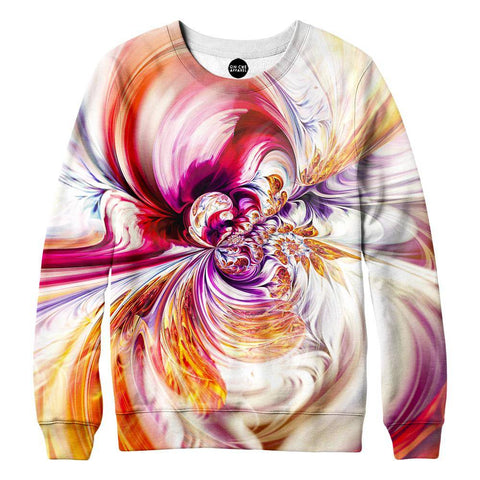 Abstract Waves Sweatshirt