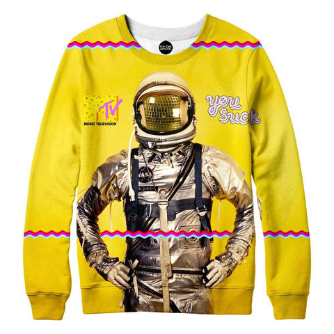 Image of 81sAstronaut Womens Sweatshirt
