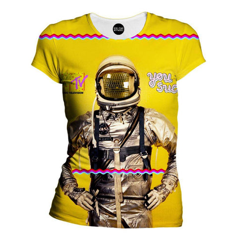 81sAstronaut Womens T-Shirt