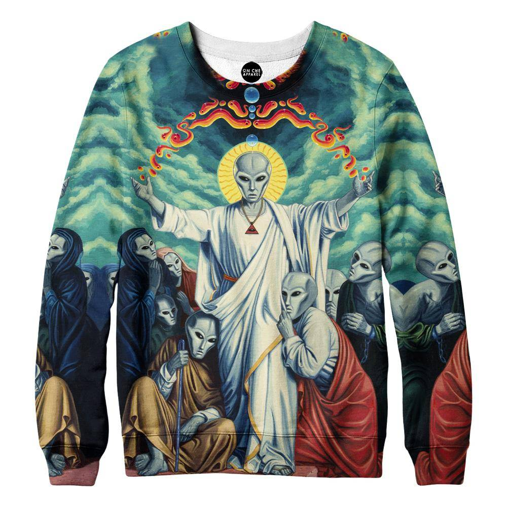 Alien Christ Sweatshirt