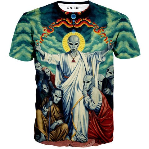 Image of Alien Christ T-Shirt
