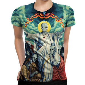 Alien Womens T-Shirt