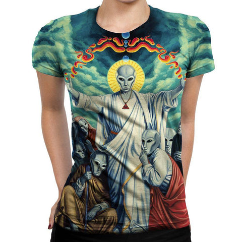 Image of Alien Womens T-Shirt
