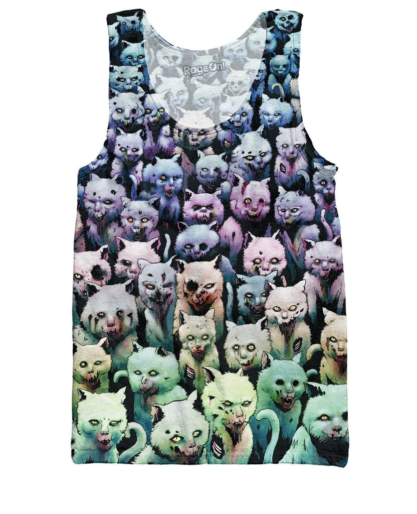 Zombie Kitties Tank Top