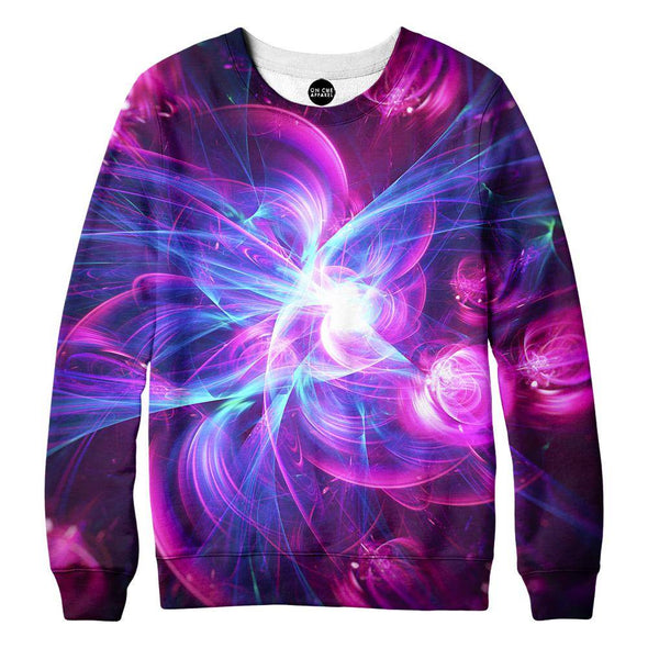Purple Light Womens Sweatshirt