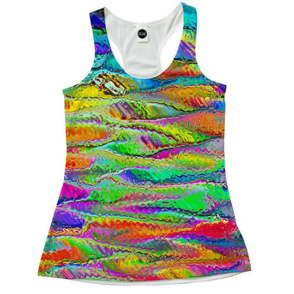 Distorted Colors Racerback