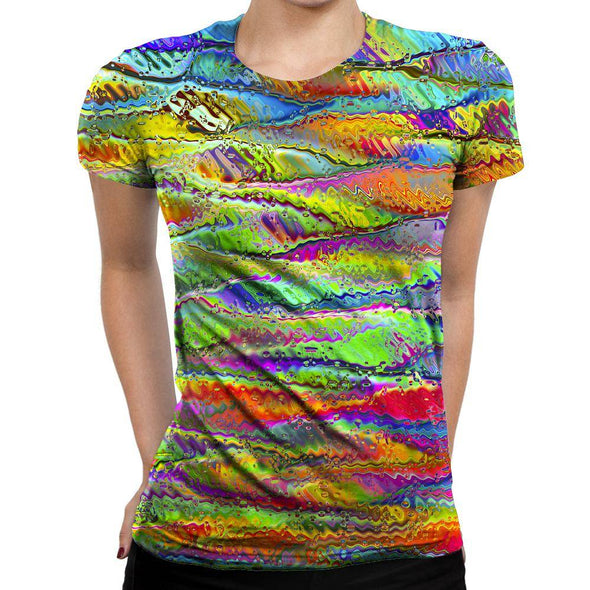 Distorted Womens T-Shirt