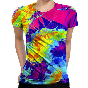 Crystals Womens T-Shirt