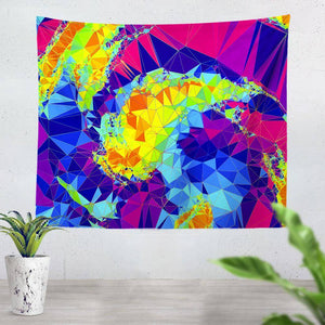 Crystals Tapestry