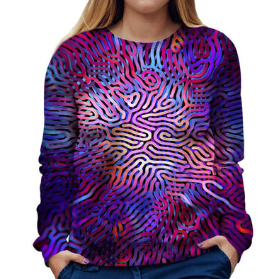 Abstract Womens Sweatshirt