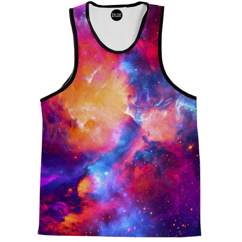 Image of Glossy Galaxy Tank Top