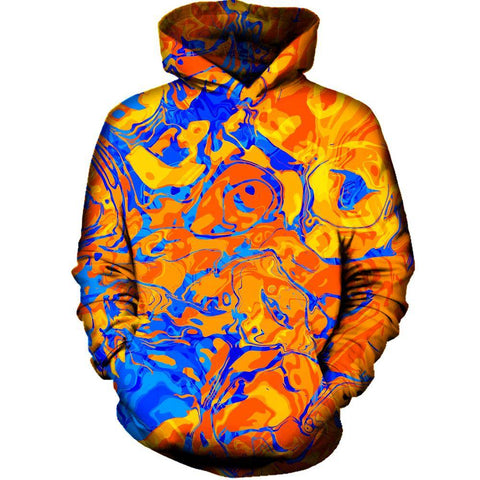 Image of Orange Water Hoodie