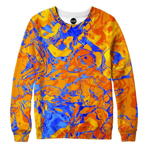 Orange Water Sweatshirt