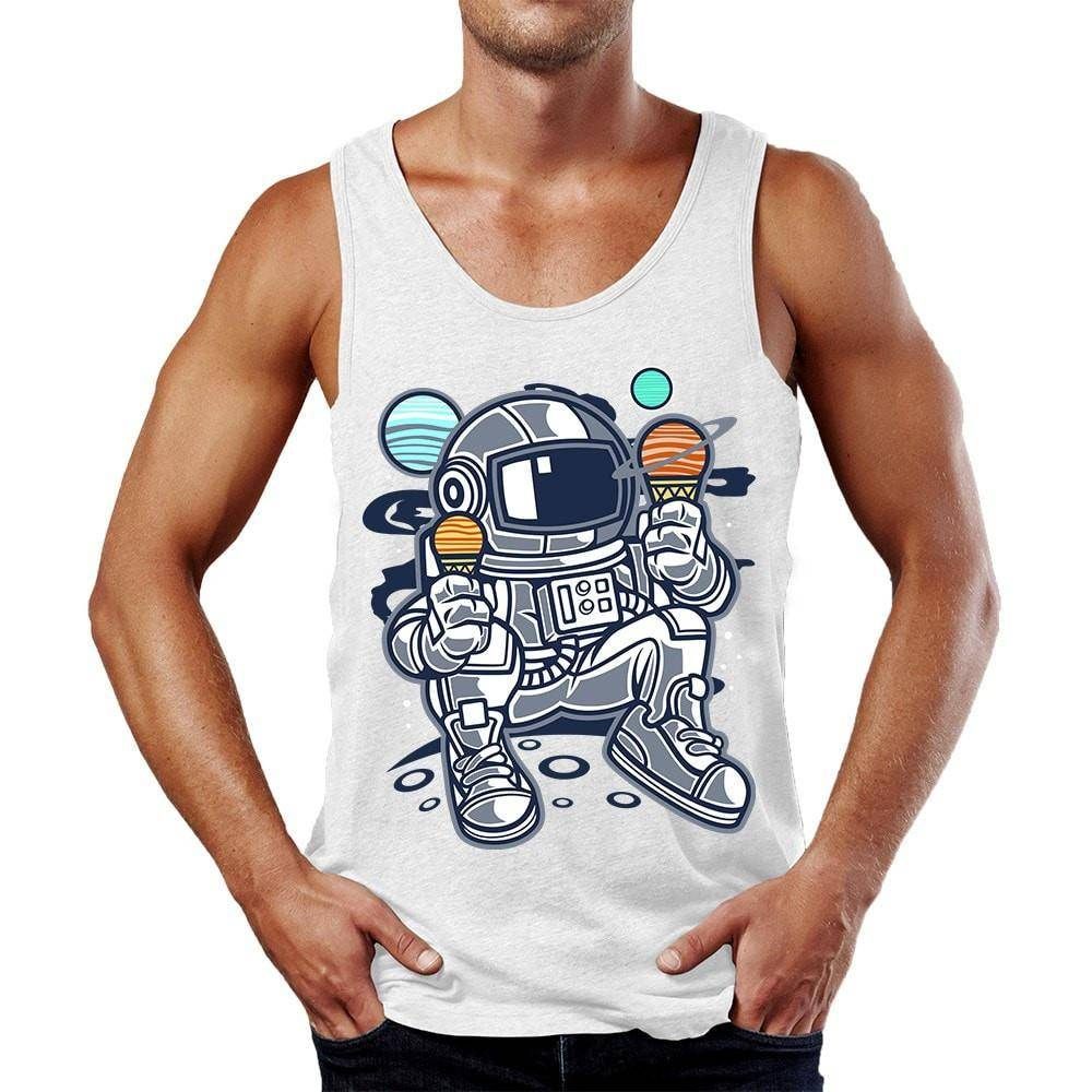 Astronaut Ice Cream Tank Top