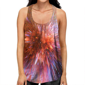 Abstract Explosion Racerback