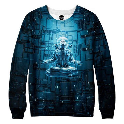 Image of Astro Lotus Womens Sweatshirt