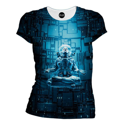 Image of Astro Lotus Womens T-Shirt