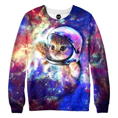 Image of Galaxy Cat Sweatshirt