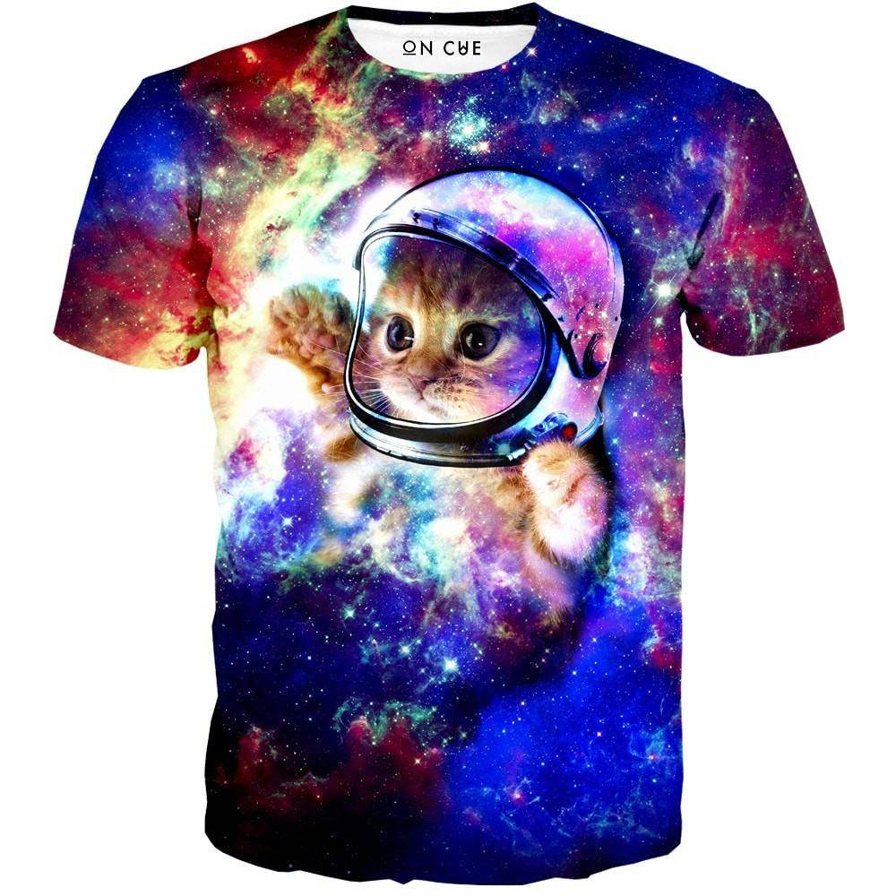 galaxy kitty t-shirt