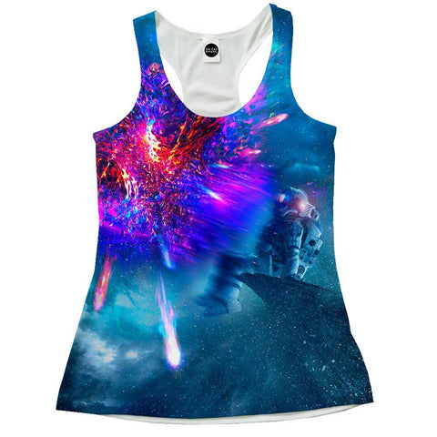 Image of Astronaut Galaxy Racerback