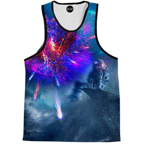 Image of Astronaut Galaxy Tank Top