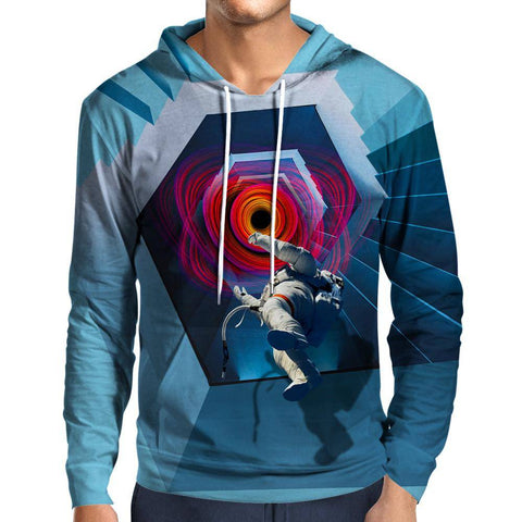 Into The Unknown Astronaut Hoodie