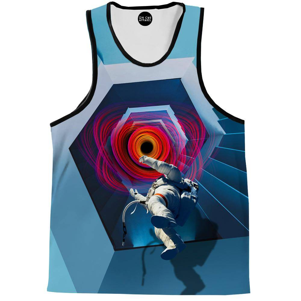Into The Unknown Astronaut Tank Top