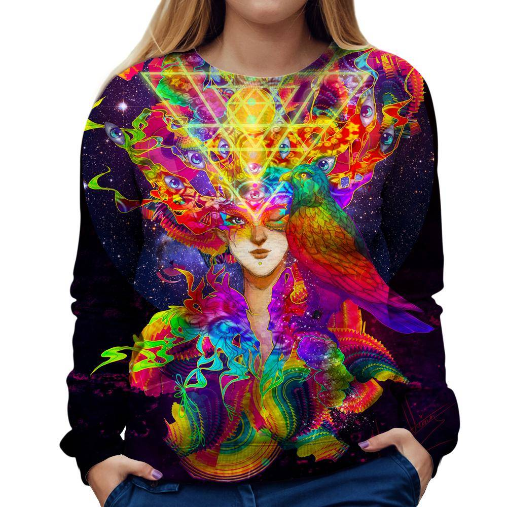 Visionary Womens Sweatshirt