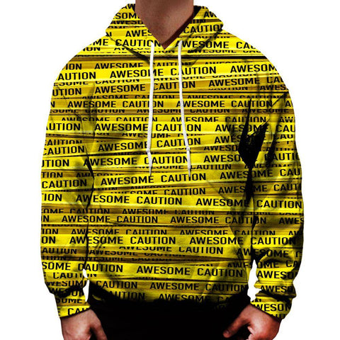Image of Caution Hoodie