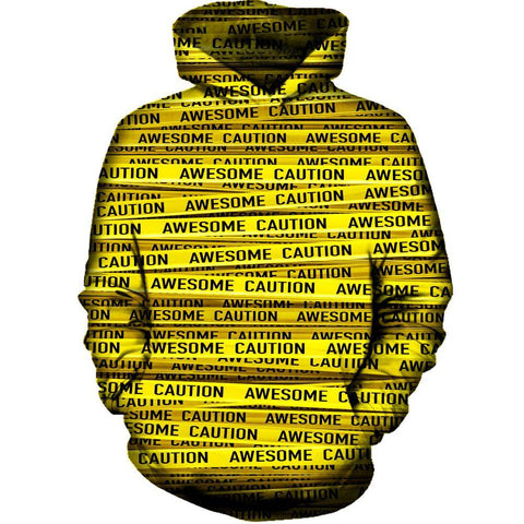 Awesome Caution Hoodie