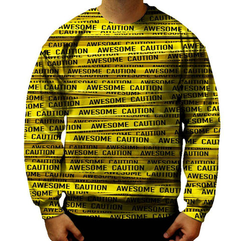 Image of Caution Sweatshirt