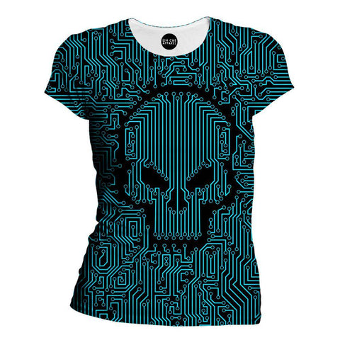 Bad Circuit Womens T-Shirt