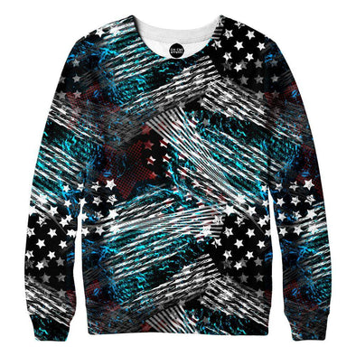American Abstract Sweatshirt
