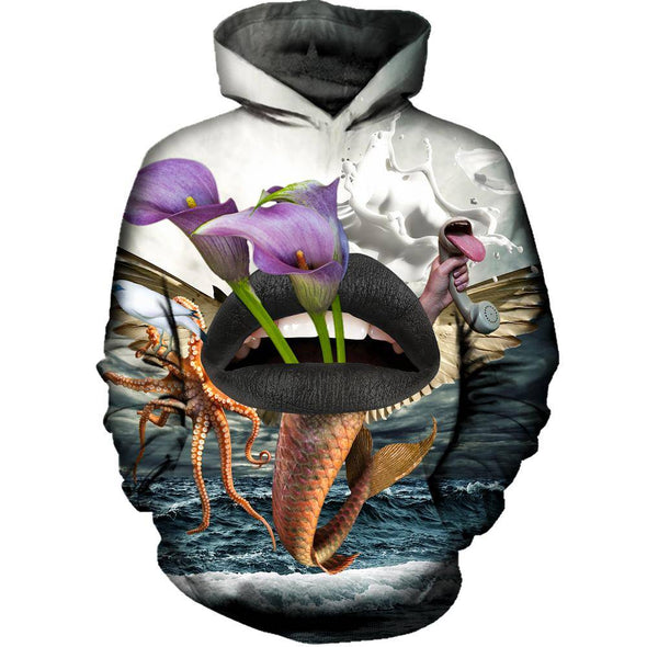 Behind And Beyond Womens Hoodie