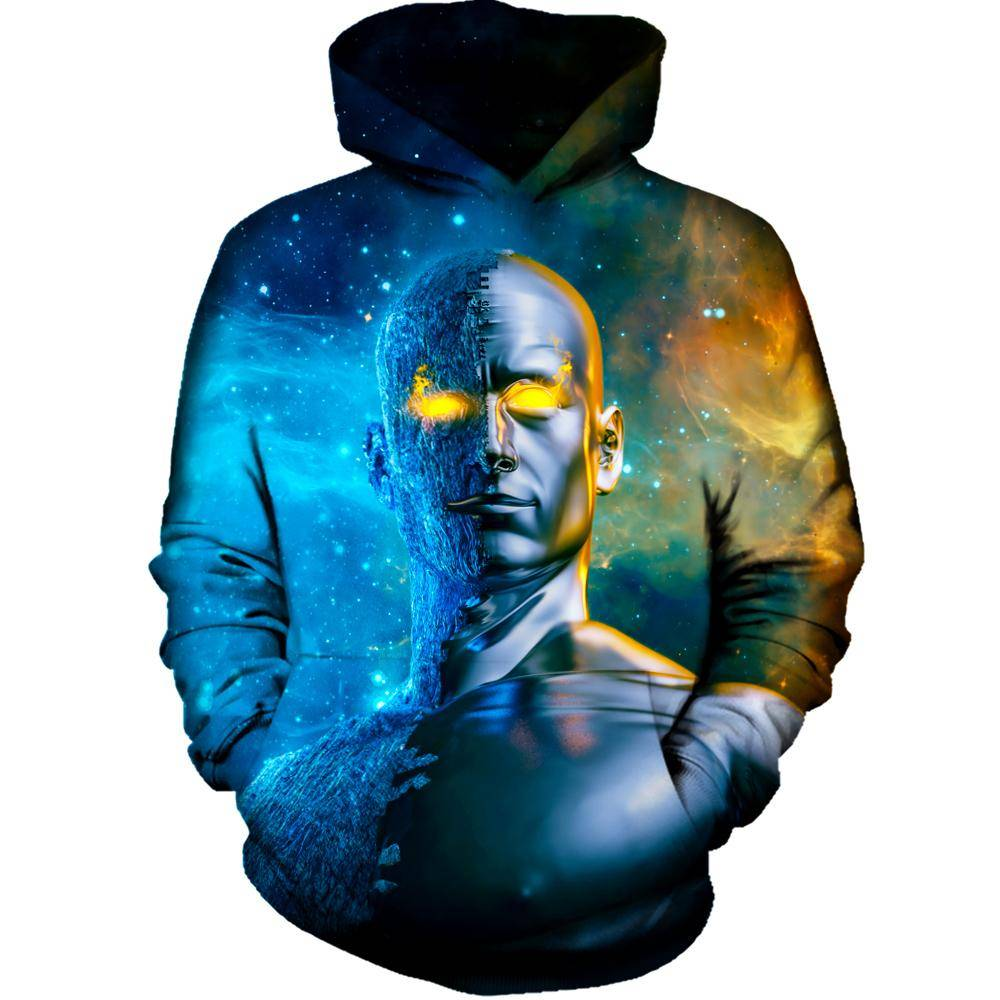 Between A Rock And A Hard Space Hoodie