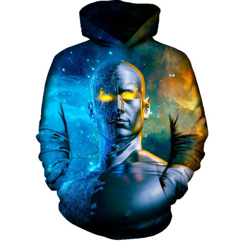 Image of Between A Rock And A Hard Space Hoodie