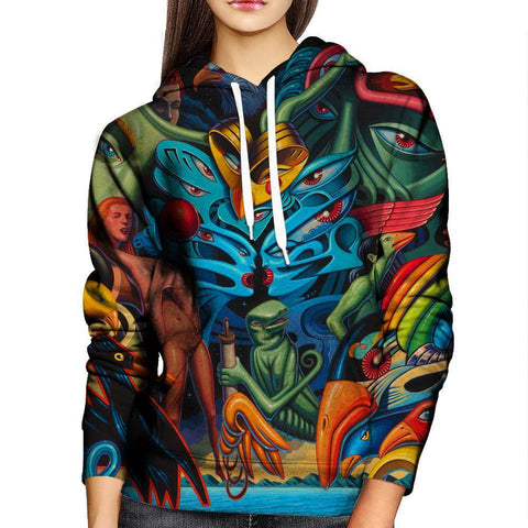 Image of Bird Womens Hoodie