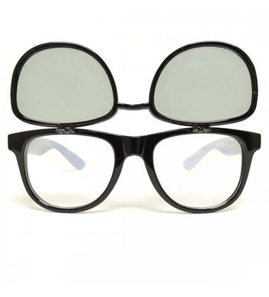 GloFX Matrix Diffraction Glasses – Black Tinted