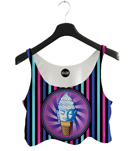 Buddha Ice Cream Crop Top