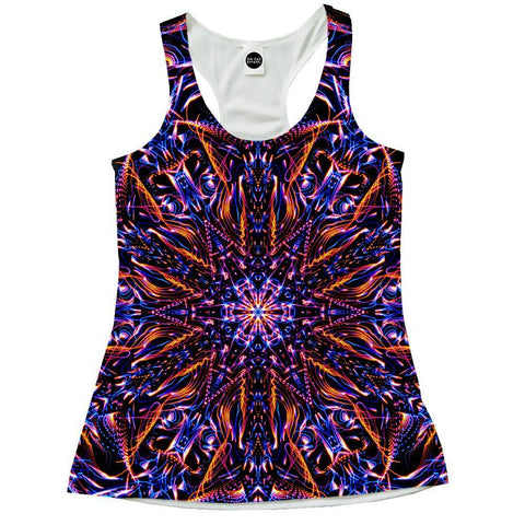 Abstract Design Racerback