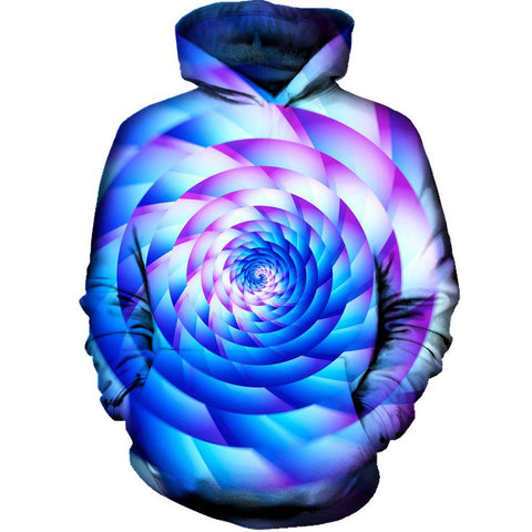 Image of Never Stop Spinning Womens Hoodie