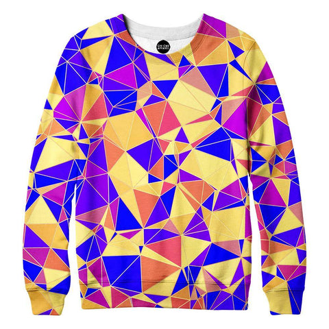 Image of Funky Triangles Womens Sweatshirt