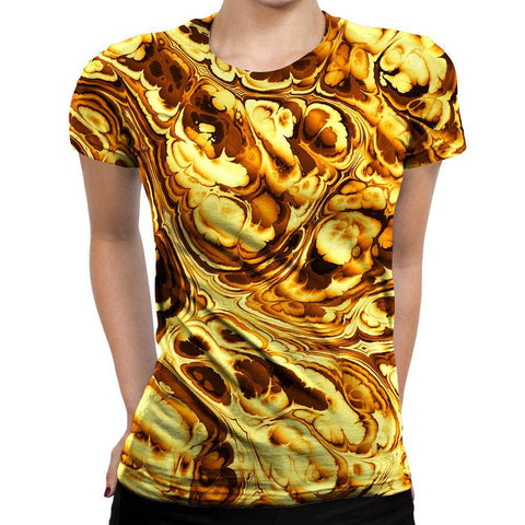 Image of Abtract Womens T-Shirt