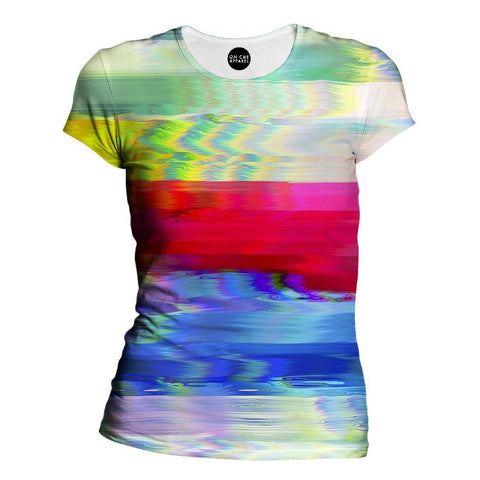 Thick Lines Womens T-Shirt