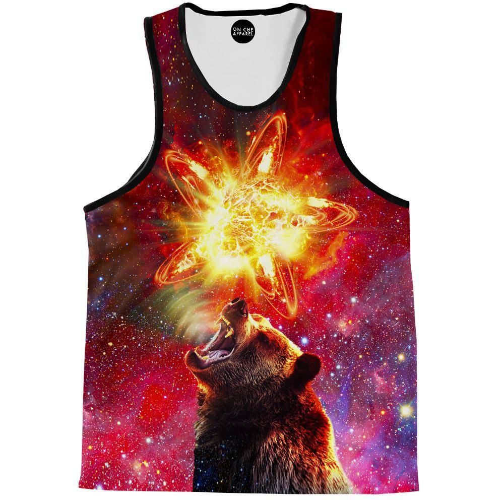 California Grizzly Bear Tank Top