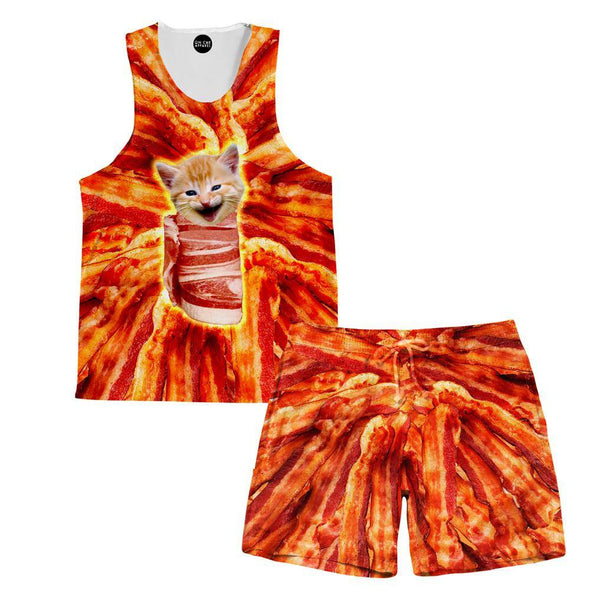 Bacon Cat Shorts